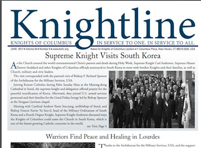 Knights of Columbus KnightLine